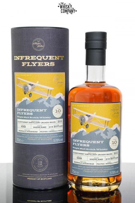 Glenturret (Ruadh Maor) 2010 Aged 10 Years Single Malt Scotch Whisky - Infrequent Flyers (700ml)