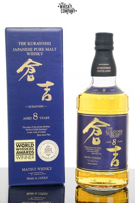 The Kurayoshi 8 Years Old Pure Malt Japanese Whisky (700ml)